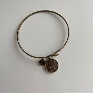 Jewelry - Butterfly Gold Plated Bangle Bracelet